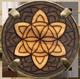 Fiore di vita Mandala scuro